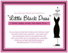 Everyone needs a great LBD! premier busi, premier designs jewelry, design parti, premier designs party, design jewelri, dress parti