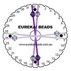 Swarovski Purple Dreams Beaded Round Kumihimo Braid: Project Instructions
