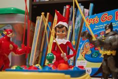 Elf on the Shelf fishing with his buddies ~ DSC_7977r | Flickr - Photo Sharing!