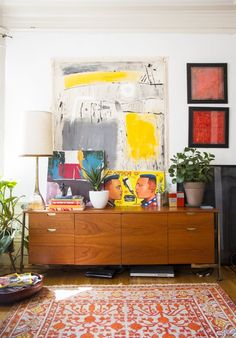 So excited to have Rena's global eclectic San Francisco Apartment featured on Apartment Therapy in a series curated by AphroChic!