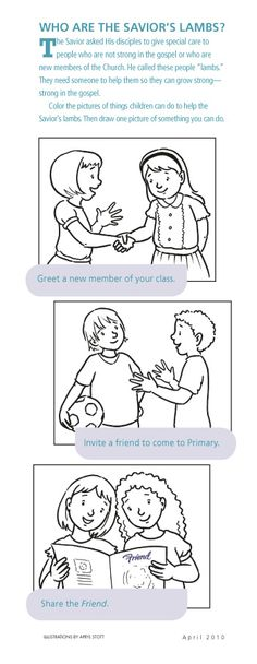 Lds primary lesson helps