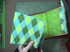 Scrapbook Tutorial - JAnnBDesigns Envelope Mini Album, Video 3 of 5