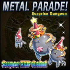 The Metal Ghost, Metal King, and Metal God reveal the Metal Parade Schedule this week: - November 19, 2013 16:00 PST (UTC -8) - November 19, 2013 20:00 PST (UTC -8) - November 21, 2013 16:00 PST (UTC -8) - November 21, 2013 20:00 PST (UTC -8)
