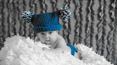 TEAL JESTER HAT and Diaper Cover Set - 0-6 months - Great for Photo Props. $40.00, via Etsy.