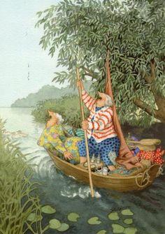 granni, ing lööks, age, boat, arting