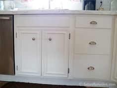 Better Than Eden: The Kitchen Project - Painting the Cabinets and My Annie Sloan Chalk Paint Experience
