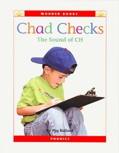 Chad Checks, by Peg Ballard, uses many words with the 'ch' blend.  Though this is only a digraph, knowing this blend will help students to understand and grasp trigraphs better, especially ones that include the 'ch' blend in them, such as 'tch'.