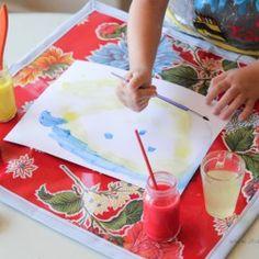 Wipeable Art Mat