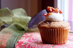 Bacon Cupcakes Recipe with Cream Cheese Frosting