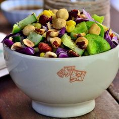 Cucumber, Corn, and Green Pepper Picnic Salad