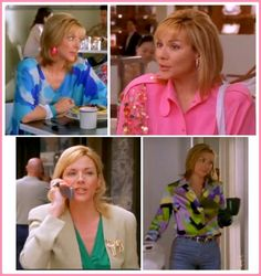 Samantha's colorful outfits in Season 4 Episode 11: Coulda, Woulda, Shoulda | #fashion #colorful #colourful #samanthajones #sexandthecity
