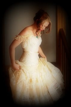 Victorian Wedding by Lee Brasile on Etsy