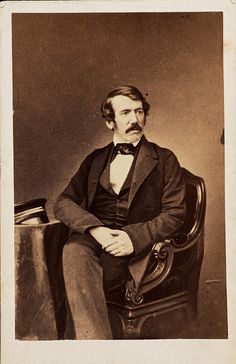Carte de visite of David Livingstone    Description: David Livingstone and Henry Morton Stanley became celebrities in the eyes of a Victorian public captivated by their adventures. Livingstone's work as a medical missionary in southern Africa allowed him to pursue his passion for exploration.