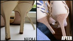 Repurpose your old shoes