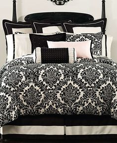 Looks like my bedding!!! <3 Waterford Bedding, Damask