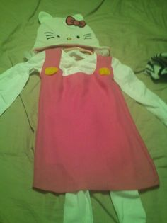 Hello kitty costume I made for my daughter