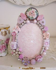 Jewelry Embellished Frame