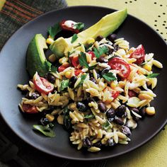 spici buttermilk, pasta salad, vegetarian recip, food, dressings, orzo salad, buttermilk dress, cooking light, salads