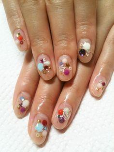 Nails ♥ #nail #nails #nailart #unha #unhas #unhasdecoradas