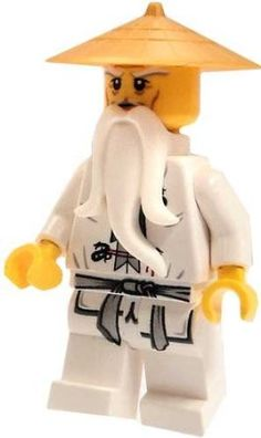 Lego on pinterest lego ninjago lego and lego super heroes - Ninjago sensei wu ...