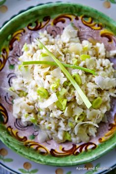 Risotto with Leeks and Fennel