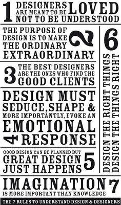 Words of design.