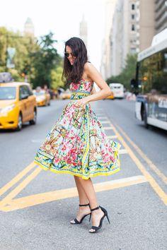 Flirty floral dresses