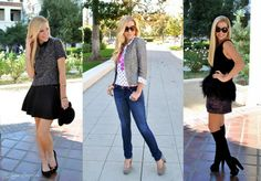 3 Ways to Wear Tweed for Fall
