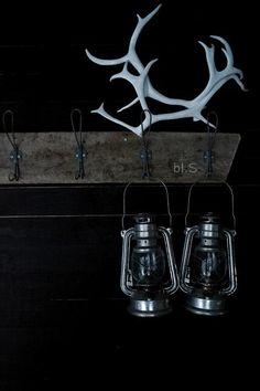 hanging lanterns & rack
