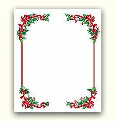 Christmas Ideas: Christmas Border and background - Free Christmas ...
