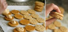Oatmeal Peanut Butter Cookies - A copycat version of the Girl Scout Cookies (aka Do-Si-Dos) and Nutter Butters.