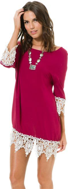 Swell Winery Lace Embellished Dress http://www.swell.com/Womens-Dresses/SWELL-WINERY-LACE-EMBELLISHED-DRESS?cs=YP