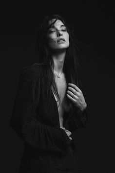 girl, sexi women, inspir, dark portrait photography, dark black, beauti, femm, sensual, photographi