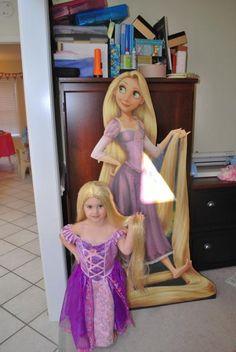 Rapunzel Cardboard Standup