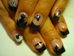 Halloween Nail Designs and Nail Art