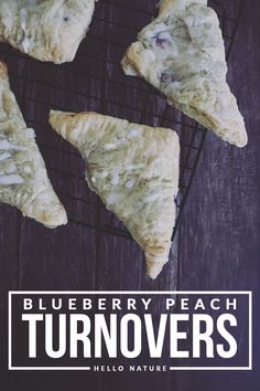 These blueberry peac