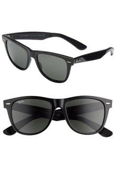 Ray-Ban 'Classic Wayfarer' 54mm Sunglasses | Nordstrom black Ruben