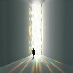 I just LOVE the work of James Turrell!