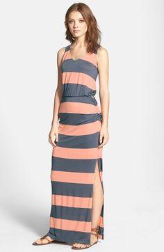 Splendid 'Luna Lake' Stripe Racerback Maxi Dress | Nordstrom