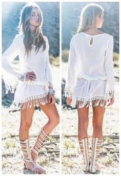 Long Sleeve Tassels