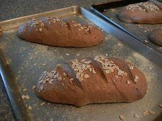 Pumpernickel Rye Bread