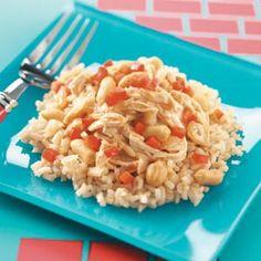 Peanut Chicken - slow cooker