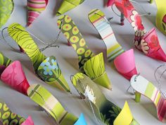 Paper Craft - Shoe Tags for Purses by Carlos N. Molina - Paper Art, via Flickr
