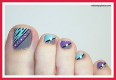 easy toe nail art | simple toe nail art for girls pictures photos video pictures 9