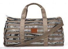 Victoria's Secret Pink Sequin Bling Duffle Bag Travel Bag RARE | eBay