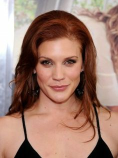Katee with Red Hair!