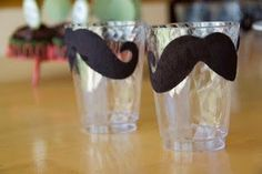 jet parti, mustach cup, babi shower, baby showers