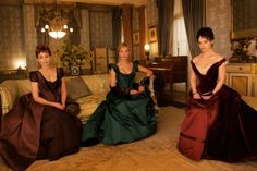 What did you think of the costume design in Bel Ami?