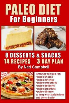 Paleo+Diet+for+Beginners:+Amazing+Recipes+for+Paleo+Snacks,+Paleo+Lunches,+Paleo+Smoothies,+Paleo+Desserts,+Paleo+Breakfast,+and
