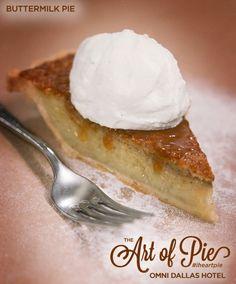 Buttermilk Pie from